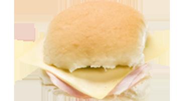 belegd broodje ham kaas