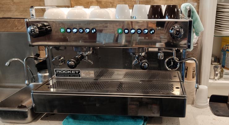rocket-boxer koffiemachine